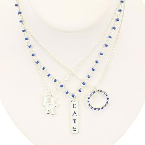 Kentucky Trio Necklace-Seasons Jewelry-The Bugs Ear
