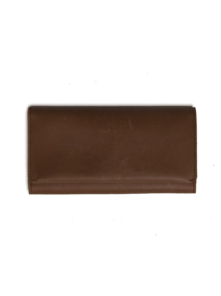 Debre Minimal Wallet in Chocolate-Fashionable-The Bugs Ear