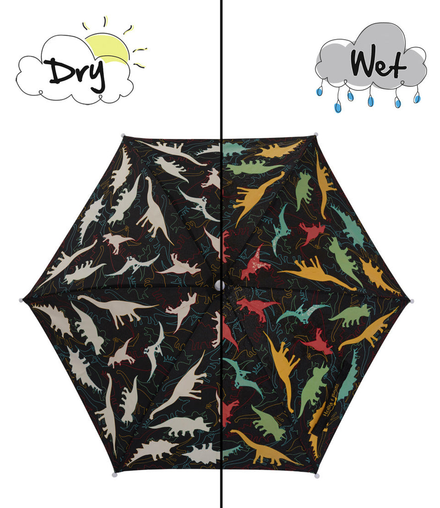 Holly and Beau Color Changing Umbrella Dinosaur-Holly and Beau-The Bugs Ear
