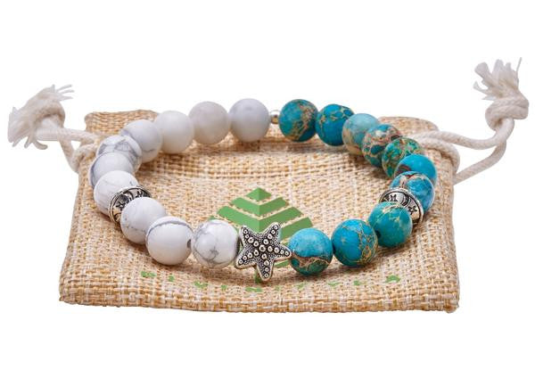 Divinity Beaded Stretch Bracelets-Divinity LA-The Bugs Ear