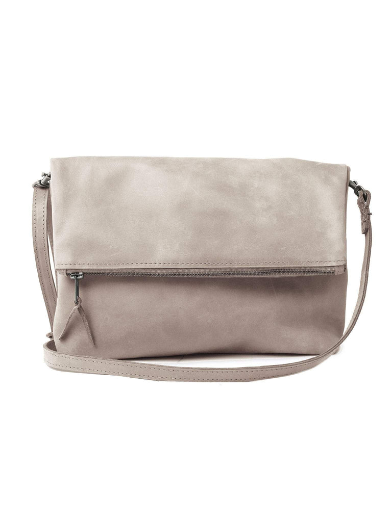 ABLE Emnet Foldover Crossbody in Fog-ABLE-The Bugs Ear