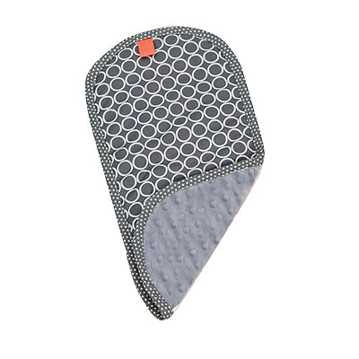 Pello Majestic/Gray Burp Cloth-Pello-The Bugs Ear