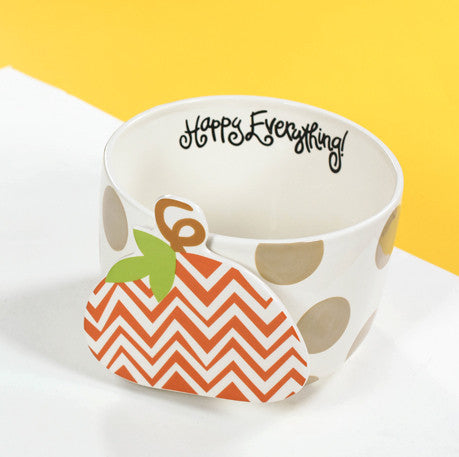 Happy Everything Mini Bowl Neutral Dot-Coton Colors-The Bugs Ear