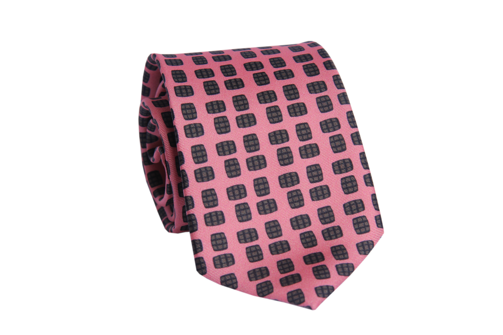 Barrel Aged Necktie in Pink-Barrel Down South-The Bugs Ear
