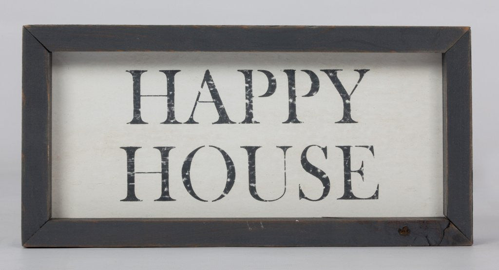 Happy House Small Word Board-Face to Face Designs-The Bugs Ear