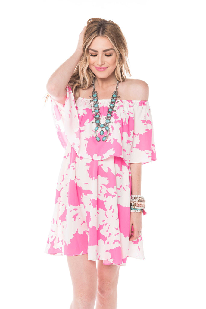Ever Electric Off The Shoulder Dress-Buddy Love-The Bugs Ear