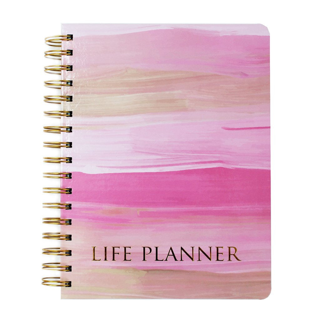 Pink Paint Life Planner-Mary Square-The Bugs Ear