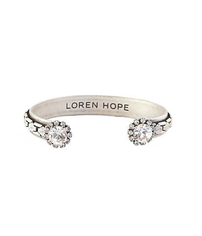 Loren Hope Marley Cuff in Silver-Loren Hope-The Bugs Ear