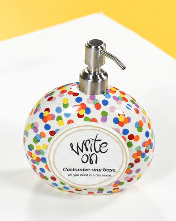 Happy Everything Mini Soap Pump Toss-Coton Colors-The Bugs Ear