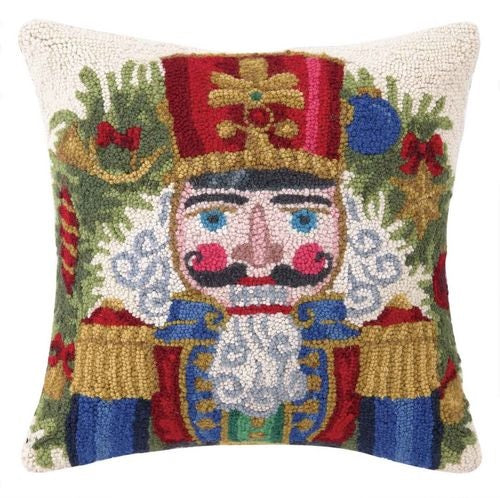 Christmas Nutcracker Hook Pillow-Peking Handicraft-The Bugs Ear