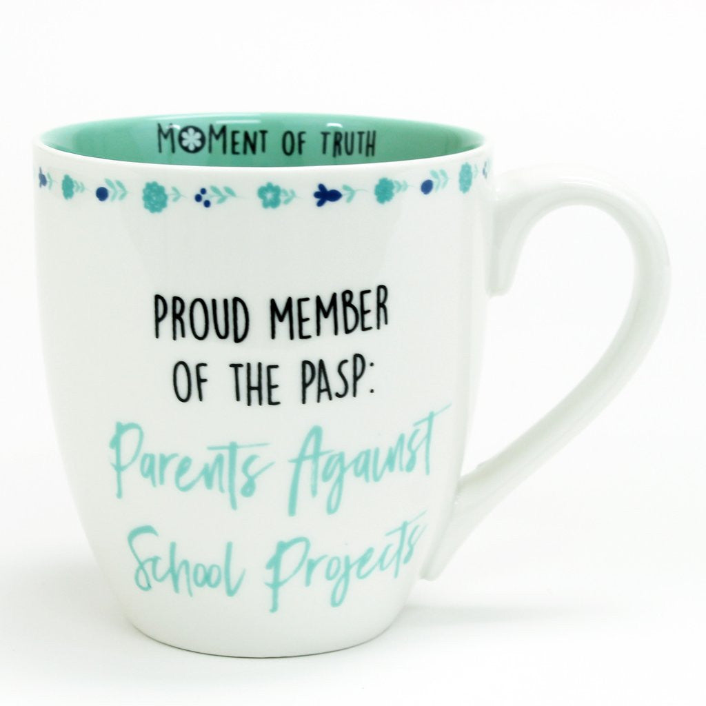Parents Against School Projects Ceramic Mug-Mary Square-The Bugs Ear
