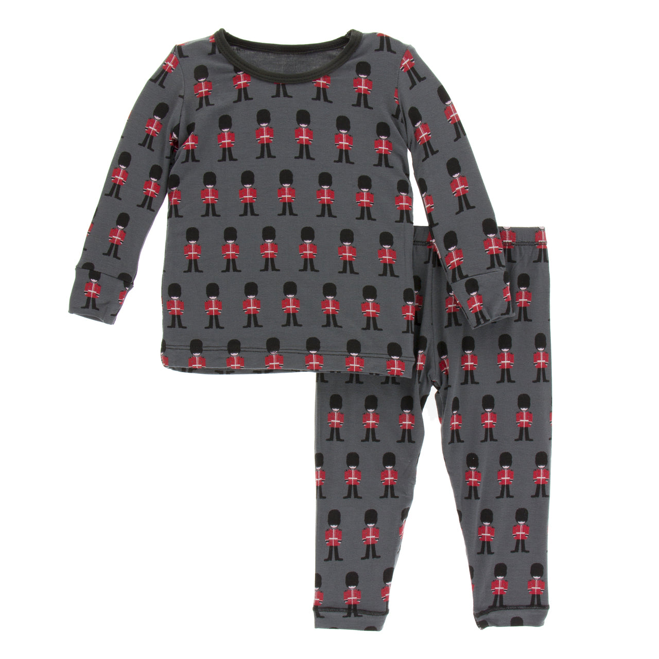 9487110a2 KicKee Pants London Long Sleeve Pajama Set in Queens Guard – The ...