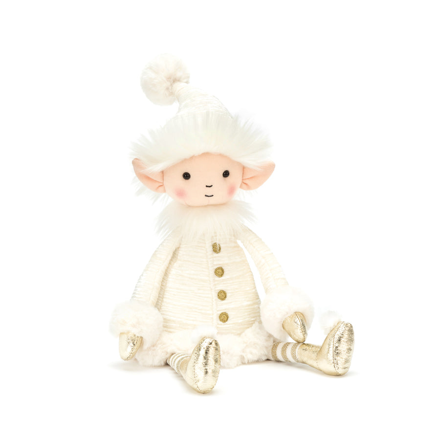 Jellycat Medium Snowflake Elf-Jellycat-The Bugs Ear