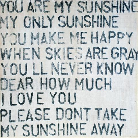 Small Print - You Are My Sunshine - 12x12-Sugarboo Designs-The Bugs Ear