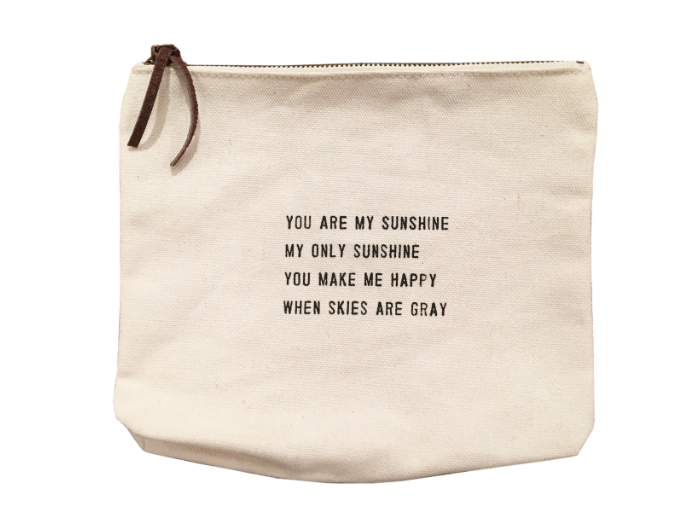 You Are My Sunshine Canvas Bag-Sugarboo Designs-The Bugs Ear