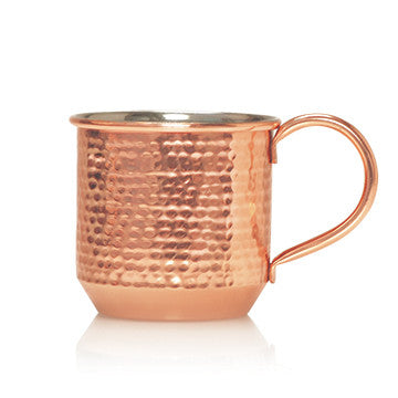 Thymes Simmered Cider Copper Cup Candle-Thymes Frasier Fir-The Bugs Ear