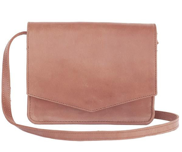 Tigist Crossbody in Dusty Rose-Fashionable-The Bugs Ear