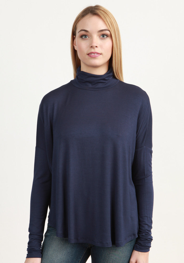 Articles of Society Tina Turtle Neck- Navy-Articles of Society-The Bugs Ear