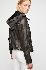 Free People Monroe Hooded Vegan Jacket-Free People-The Bugs Ear