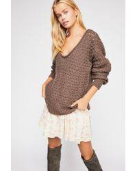 Free People Crashing Waves Pullover-Free People-The Bugs Ear