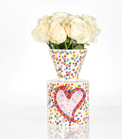 Happy Everything Mini Vase Toss-Coton Colors-The Bugs Ear