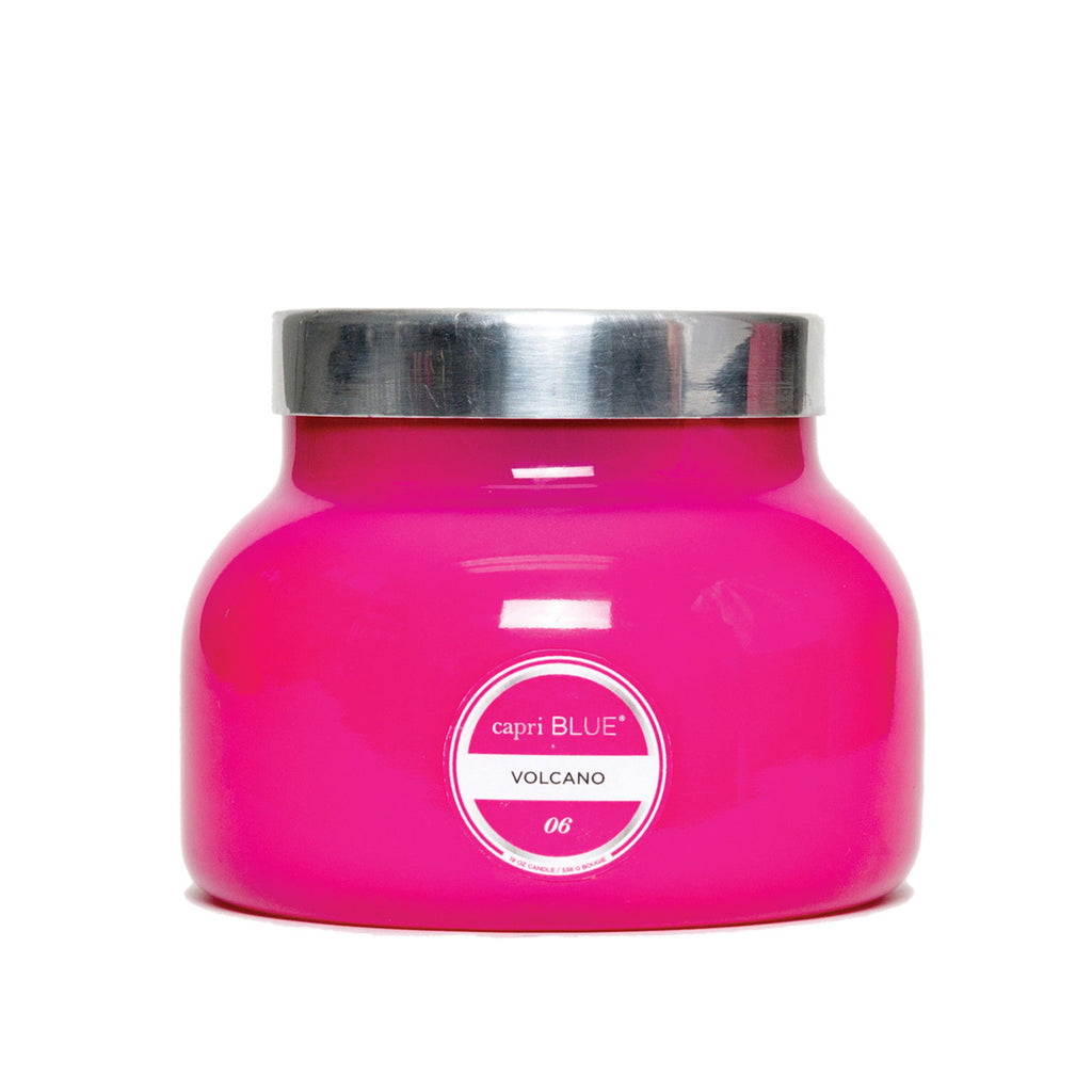 Capri Blue Volcano Pink Accent Jar 19oz-Capri Blue Candles-The Bugs Ear