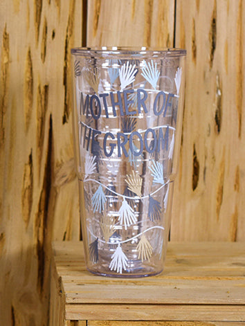 Happy Everything Mother of the Groom 24 oz Tumblers-Coton Colors-The Bugs Ear