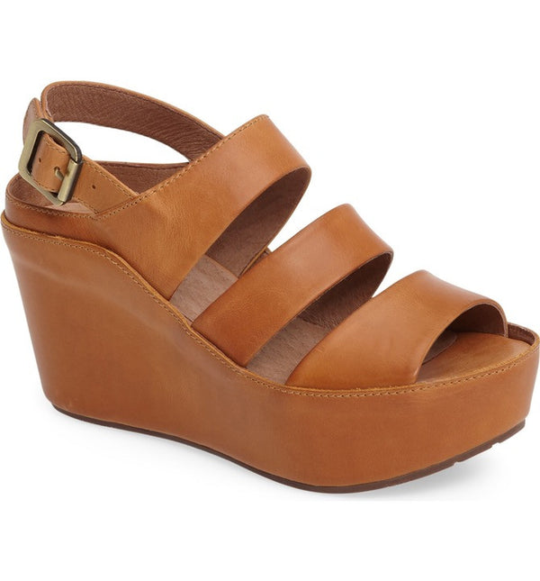 Chocolat Blu Windsor Sandal in Camel-Chocolat Blu-The Bugs Ear