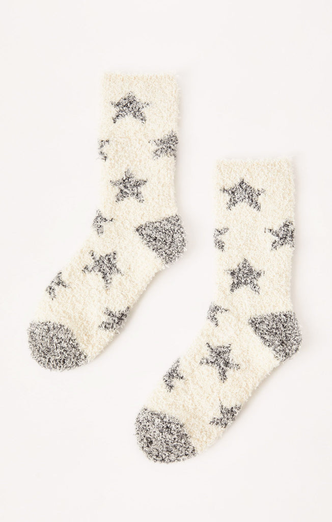 Z Supply Plush Star Socks-Z Supply-The Bugs Ear