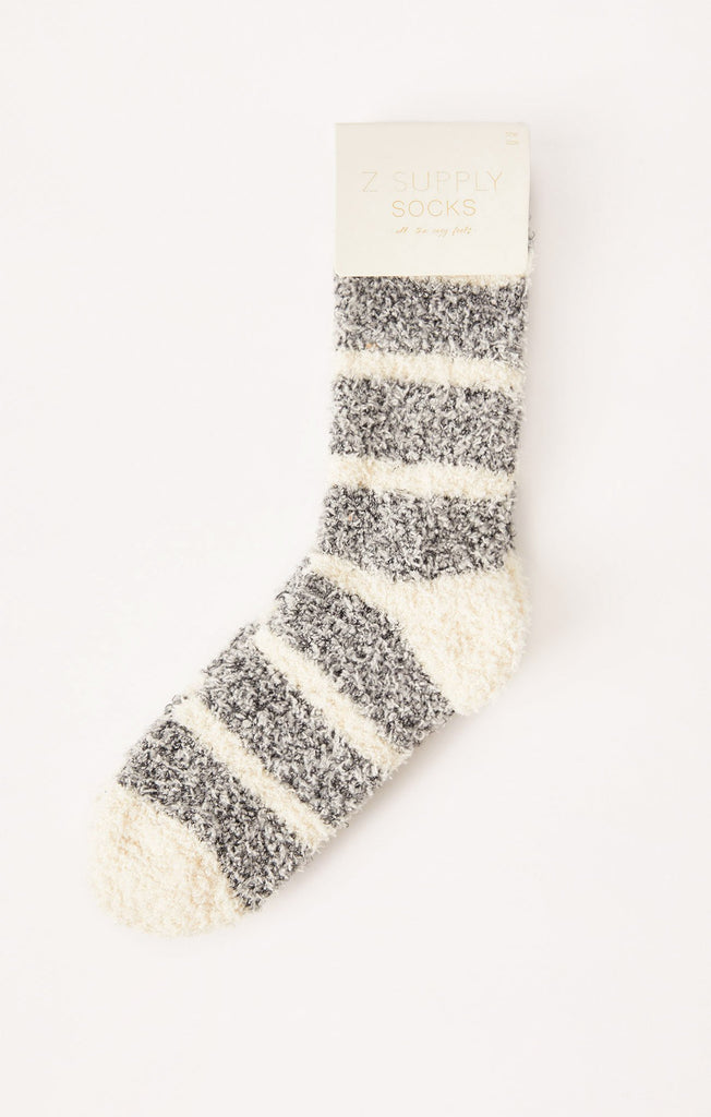 Z Supply Plush Stripe Socks-Z Supply-The Bugs Ear