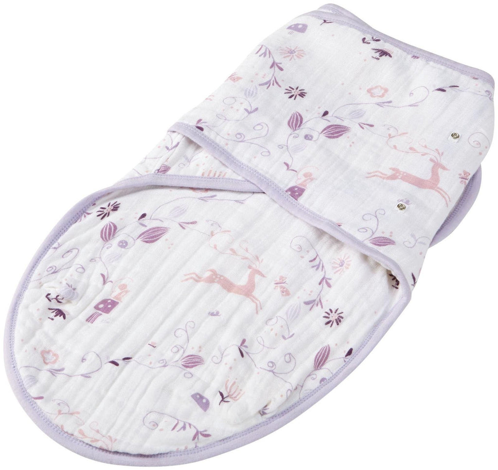 Aden and Anais Organic Easy Swaddle Once Upon a Time Small/Medium-Aden + Anias-The Bugs Ear