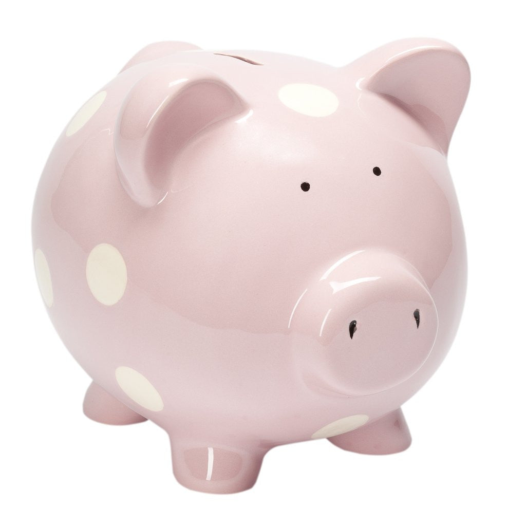 Classic Piggy Bank Pastel Pink-Elegant Baby-The Bugs Ear
