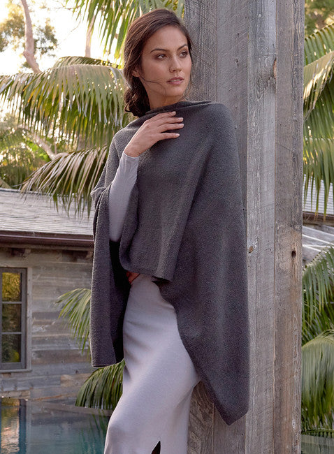 Barefoot Dreams Bamboo Chic Lite Ruana Wrap-Barefoot Dreams-The Bugs Ear