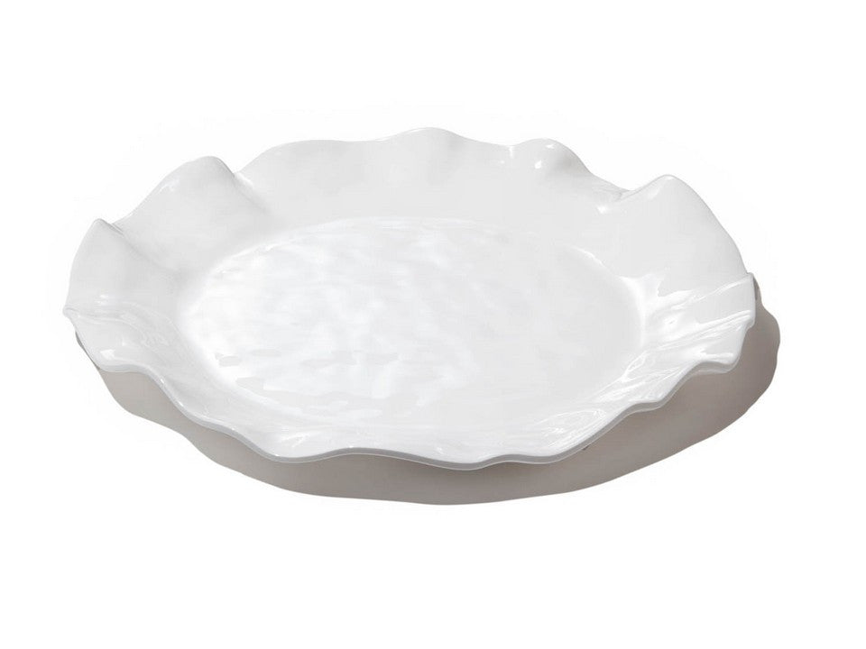 Beatriz Ball Havana Collection Round Melamine Platter White-Beatriz Ball-The Bugs Ear