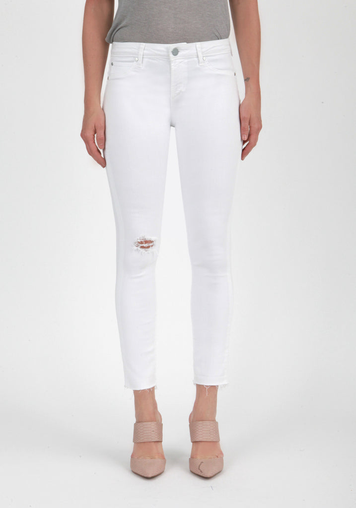 Articles of Society Jeans Carly Skinny Crop Whiteout-Articles of Society-The Bugs Ear