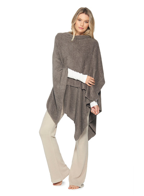 Barefoot Dreams Cozy Chic Weekend Wrap in Cocoa-Barefoot Dreams-The Bugs Ear