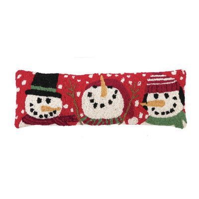 Three Snowmen Hook Pillow-Peking Handicraft-The Bugs Ear