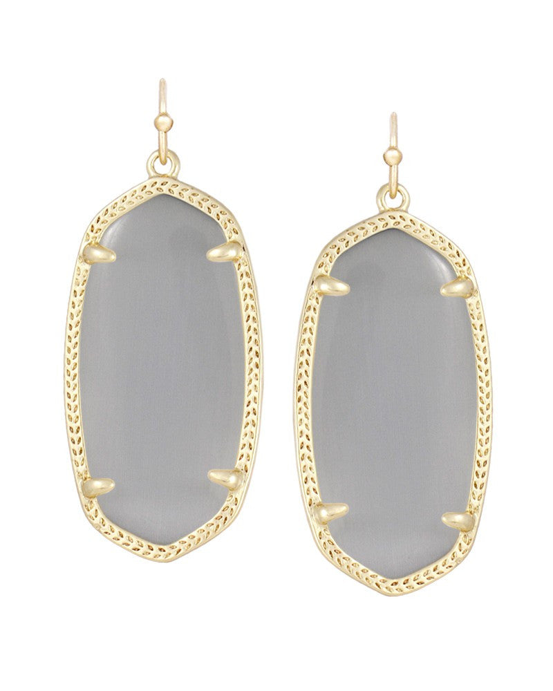 Kendra Scott Elle Earrings in Slate-Kendra Scott-The Bugs Ear