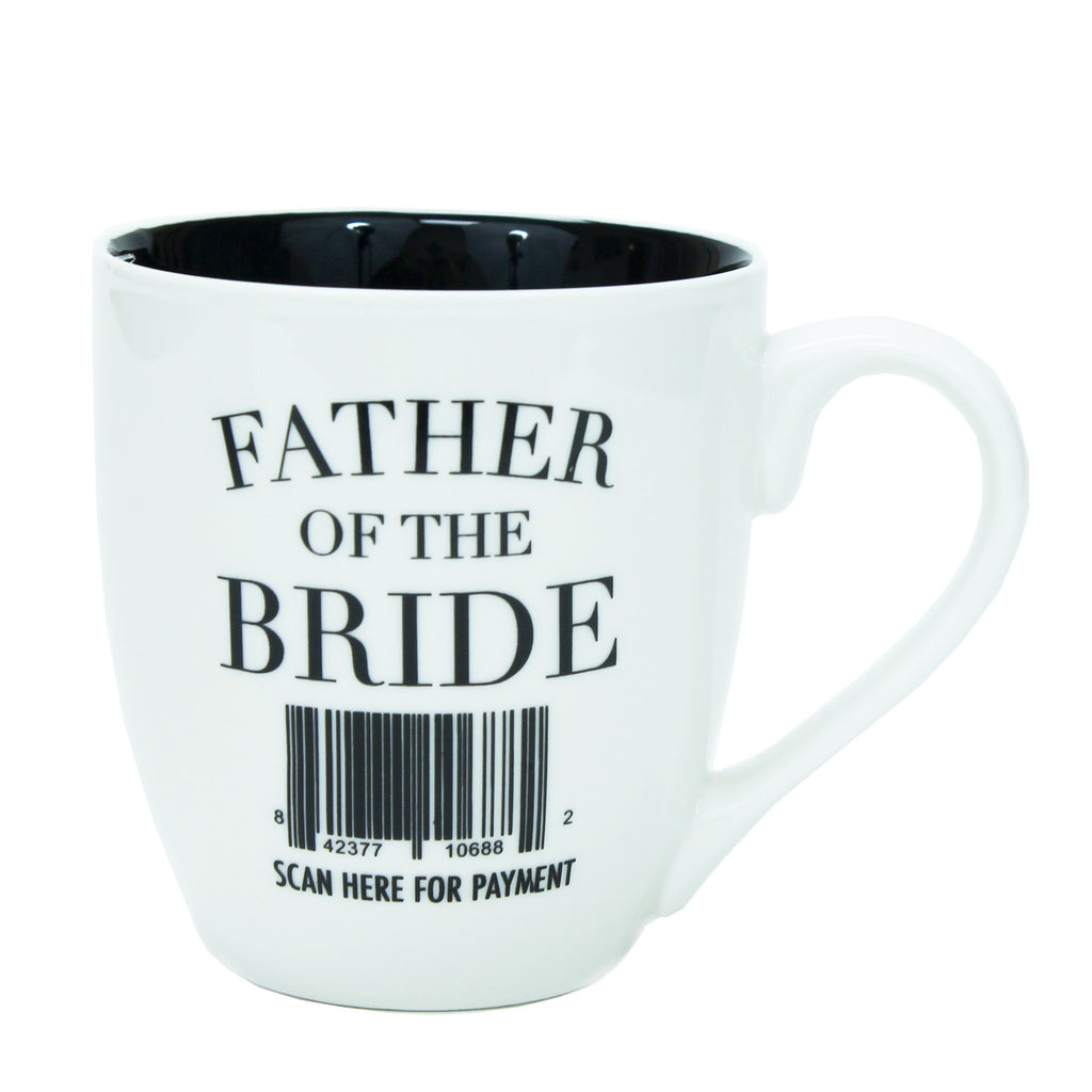 Father of The Bride Ceramic Mug-Mary Square-The Bugs Ear