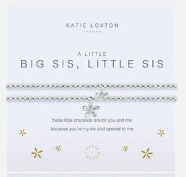 Katie Loxton A Little Big Sis, Little Sis bracelet-Katie Loxton-The Bugs Ear