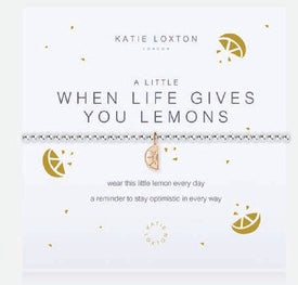 Katie Loxton A Little When Life Gives You Lemons bracelet-Katie Loxton-The Bugs Ear