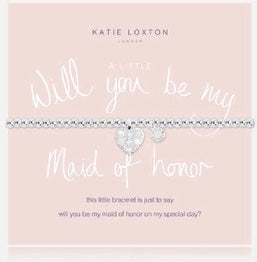 Katie Loxton A Little Will You Be My Maid Of Honour bracelet-Katie Loxton-The Bugs Ear