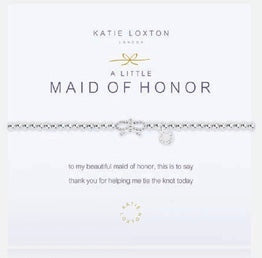 Katie Loxton A Little Maid Of Honour bracelet-Katie Loxton-The Bugs Ear