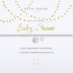 Katie Loxton A Little Baby Shower bracelet-Katie Loxton-The Bugs Ear