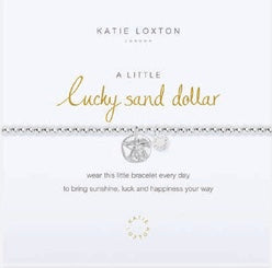 Katie Loxton A Little Lucky Sand Dollar bracelet-Katie Loxton-The Bugs Ear