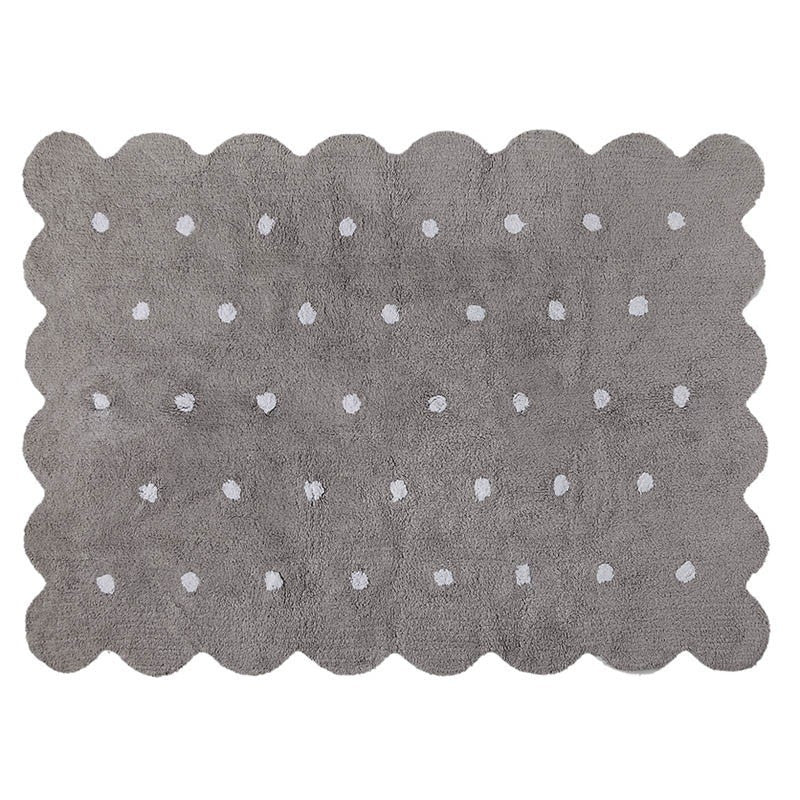 Lorena Canals Biscuit Grey Rug-Lorena Canals-The Bugs Ear