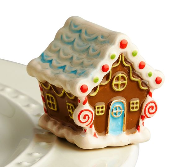 Nora Fleming Mini Gingerbread House-Nora Fleming-The Bugs Ear
