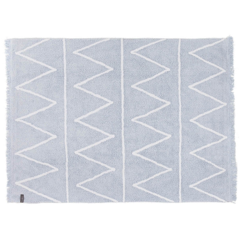 Lorena Canals Hippy Soft Blue Rug-Lorena Canals-The Bugs Ear