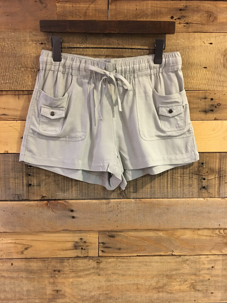 Jack BBD Mosby Drawstring Shorts in Light Grey-Jack BBD-The Bugs Ear