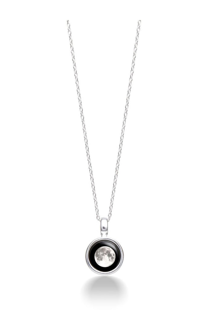 Moonglow Sky Light Necklace In Silver-Moonglow-The Bugs Ear